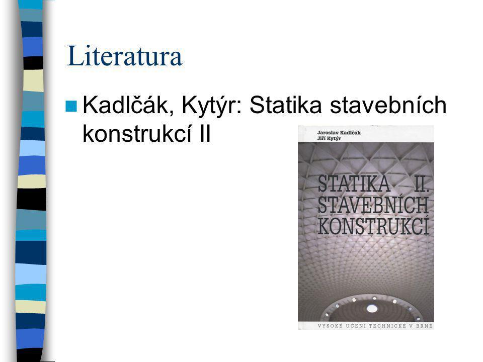 Literatura Kadlčák, Kytýr: Statika stavebních konstrukcí II