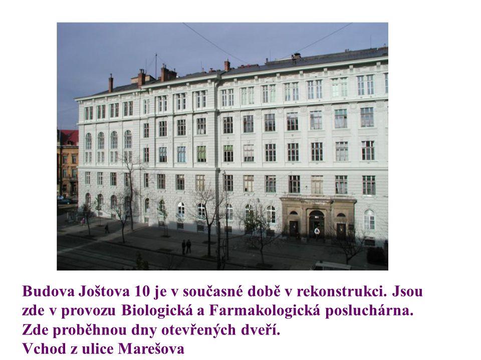 Současnost LF MU - budova Anatomického ústavu v Bohunicích