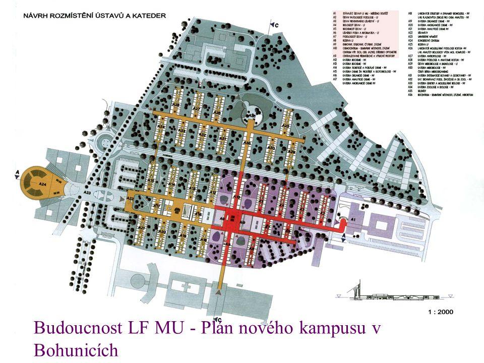 Budoucnost LF MU - Plán nového kampusu v Bohunicích