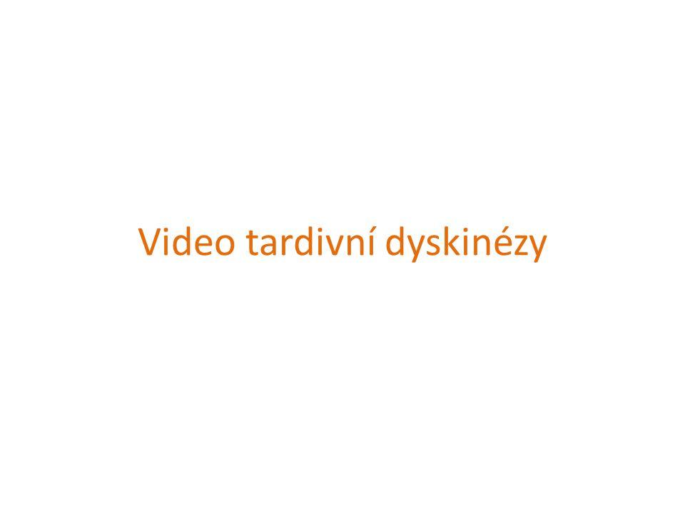 Video tardivní dyskinézy