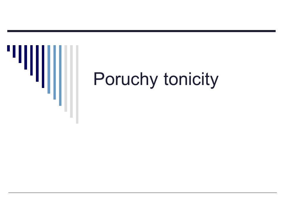 Poruchy tonicity