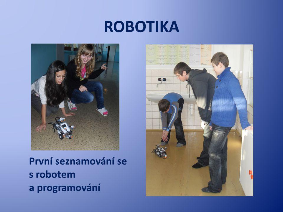 ROBOTIKA Tak jsme tvořili vlastní obrázky pro robota
