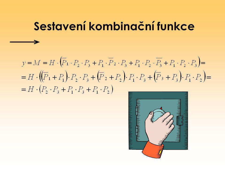 Sestavení kombinační funkce