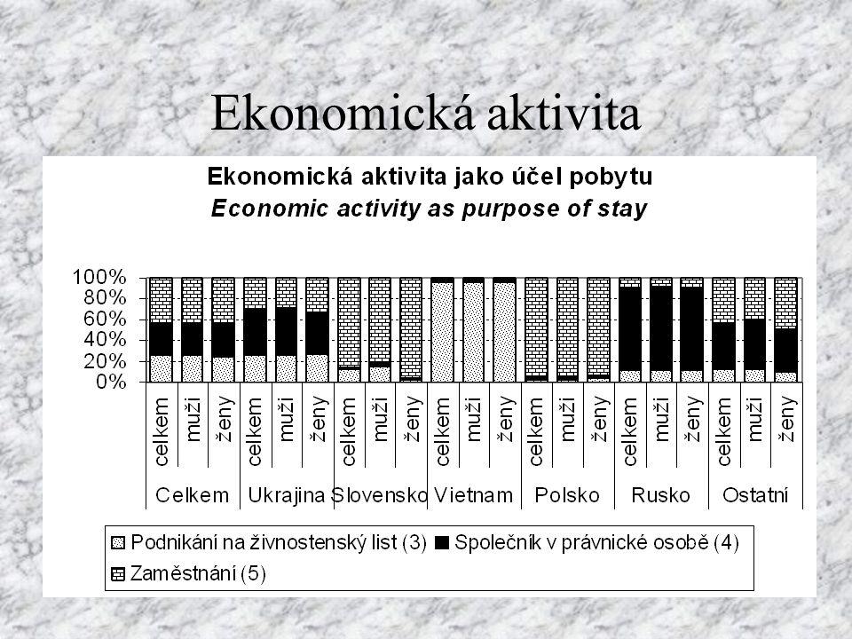 Ekonomická aktivita