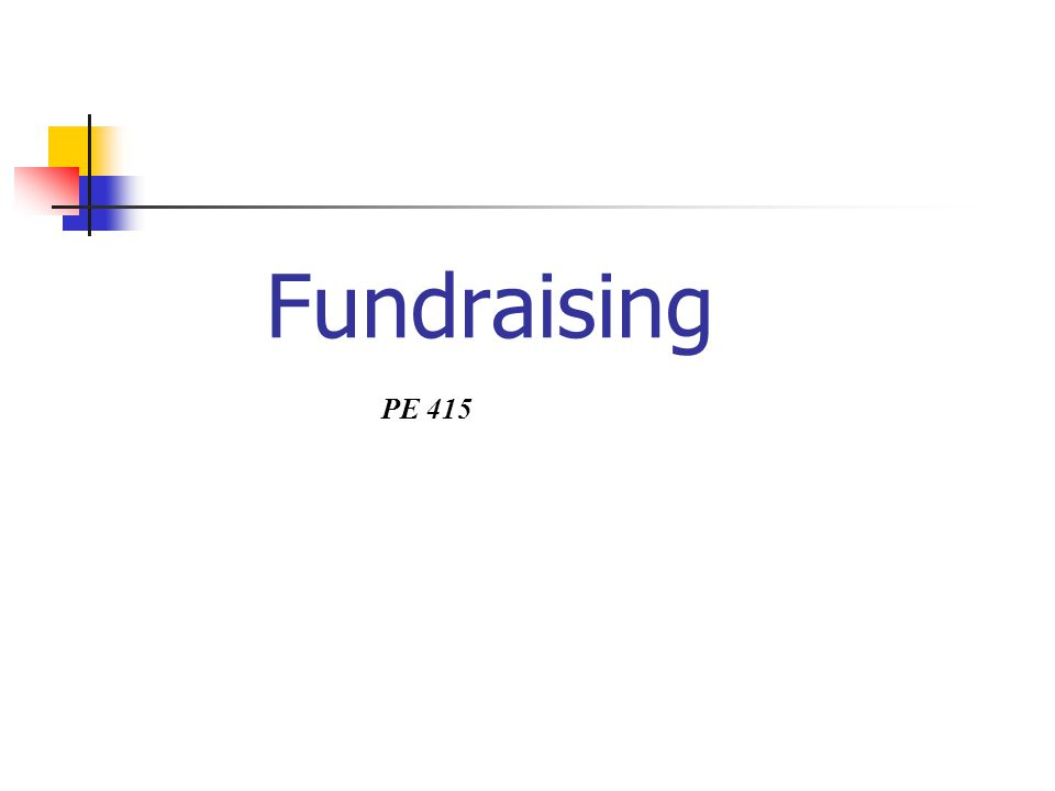 Obsah 1.CO. je fundraising 2. PROČ. je fundraising důležitý 3.