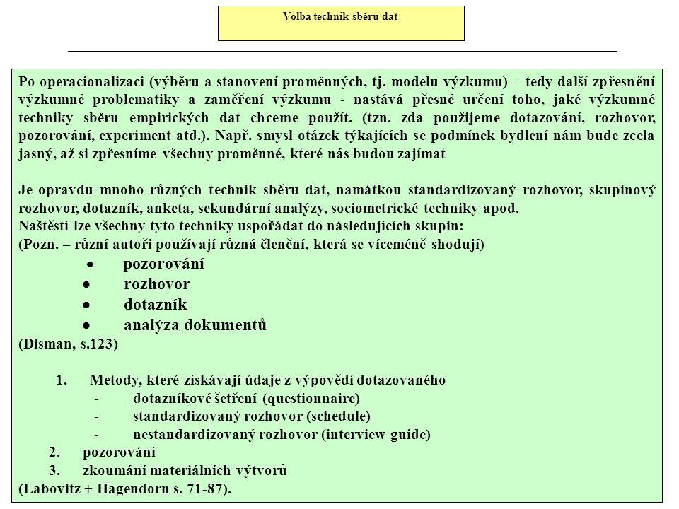 SIMAR – prezentace výsledků B. Způsob uvádění nezbytných údajů : 1. při publikování kompletní, nebo podstatné části závěrů provedeného výzkumu : Součá