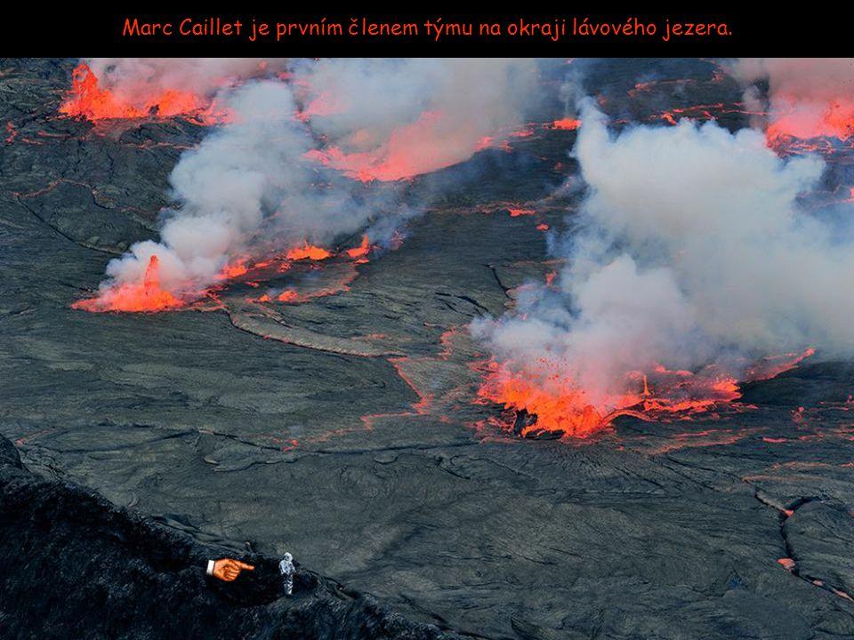 Přiblížení se k 282 milionům m3 lávy vyžaduje komplexní ochranu.