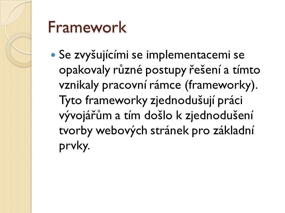 CAKEPHP Michal Tatarynowicz vytvořil minimální verzi Rapid Application Framework v PHP, který považoval za velmi dobrý start pro kvalitní framework, proto jej dal k dispozici vývojářům, kteří dopracovali CakePHP do dnešní podoby.