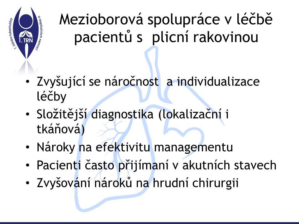Centralizace pneumoonkologické péče- moderní koncept Celoevropský koncept vycházející ze středoevropské iniciativy vedené prof.