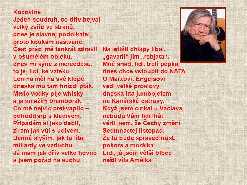 HLASY Z ULICE (2000) Už jste slyšel, pane Novák tu poslední zprávu ? Klonovat prý v Česku budou místo vola krávu. Neboť ta je užitečná, můžete ji doji