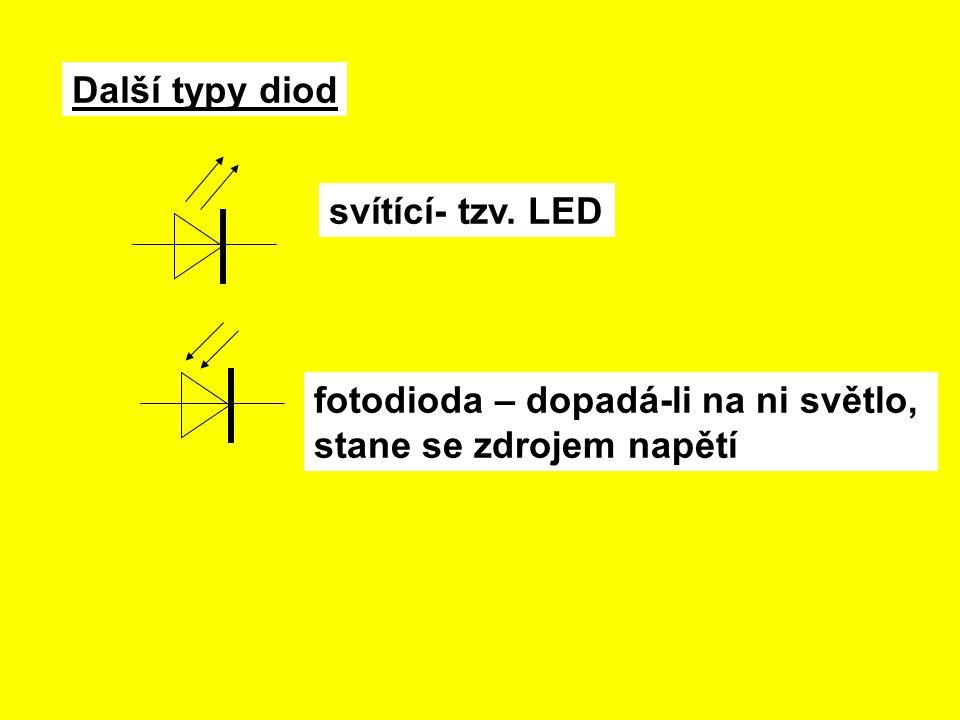 Z více vrstev polovodičů P a N jsou další elektrotechnické součástky: tranzistor(3 vrstvy) tyristor (4 vrstvy) Užívají se k regulaci proudu a napětí.