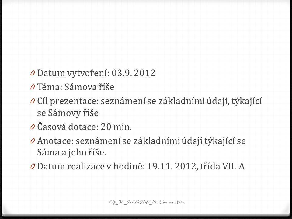 0 Datum vytvoření: 03.9.
