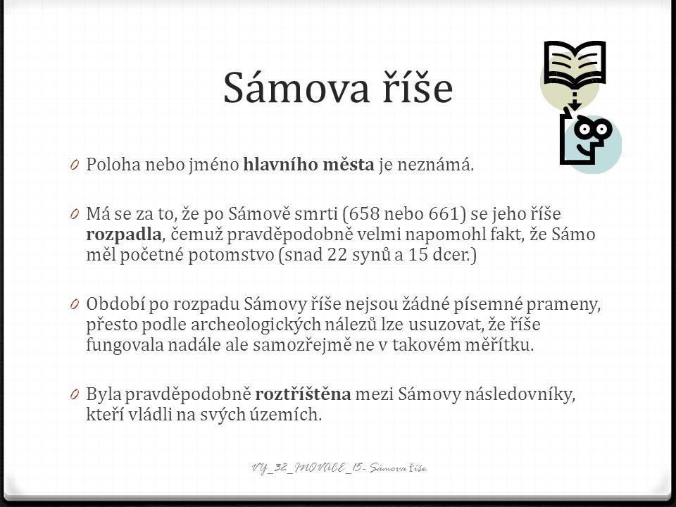 Sámova říše 0 Poloha nebo jméno hlavního města je neznámá.