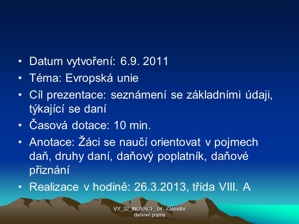 Datum vytvoření: 6.9.