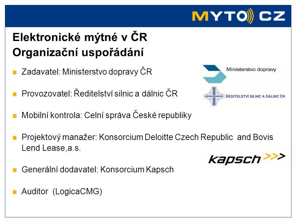Sazby mýtného na dálnicích a rychlostních silnicích Sazby mýtného na silnicích I. třídy Sazby mýtného [CZK/km] Emisní třída Euro 0-IIEmisní třída Euro