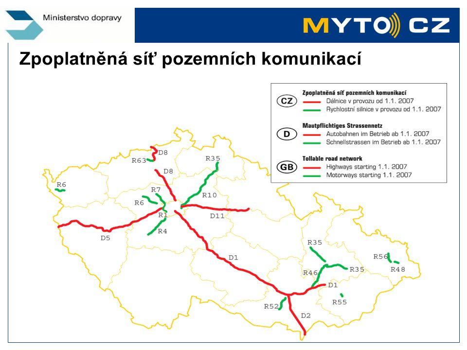 Kontaktní a distribuční místa v ČR