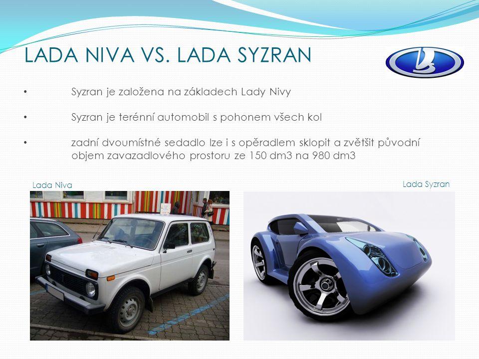 LADA NIVA VS.