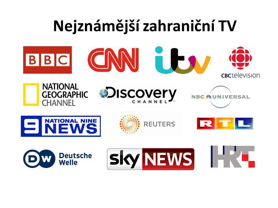 Nejznámější zahraniční TV