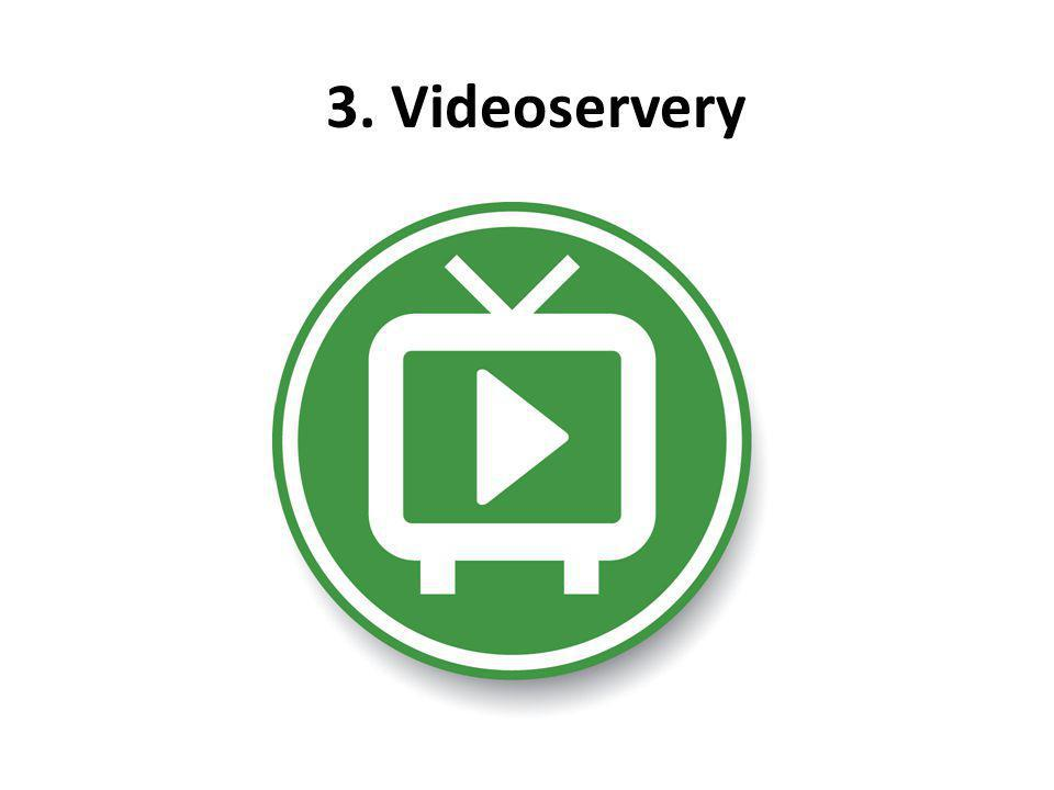 3. Videoservery