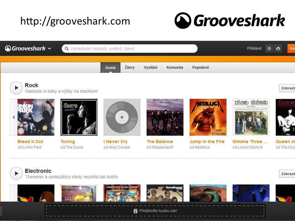 http://grooveshark.com