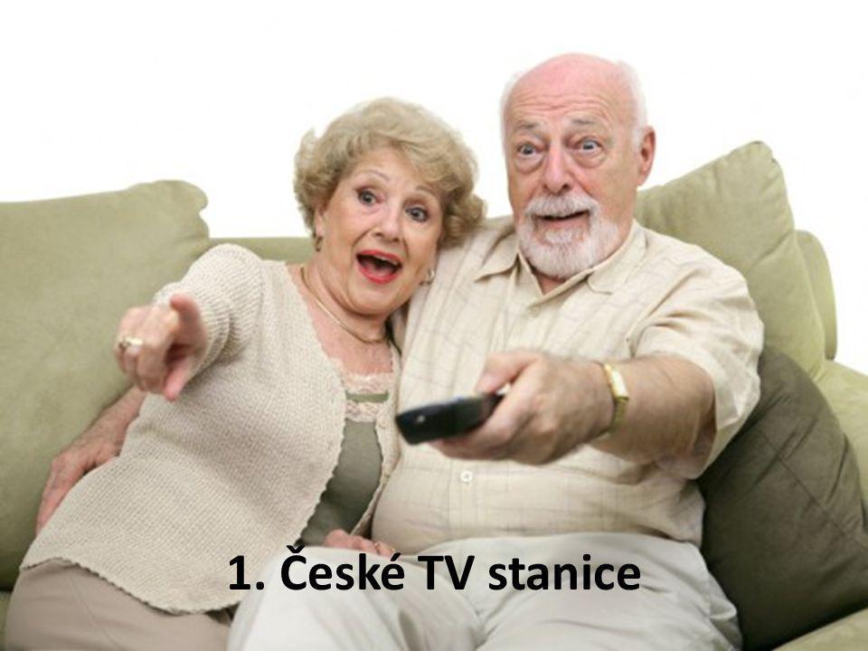1. České TV stanice