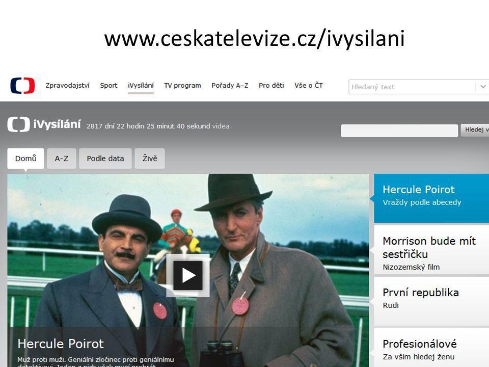 www.ceskatelevize.cz/ivysilani