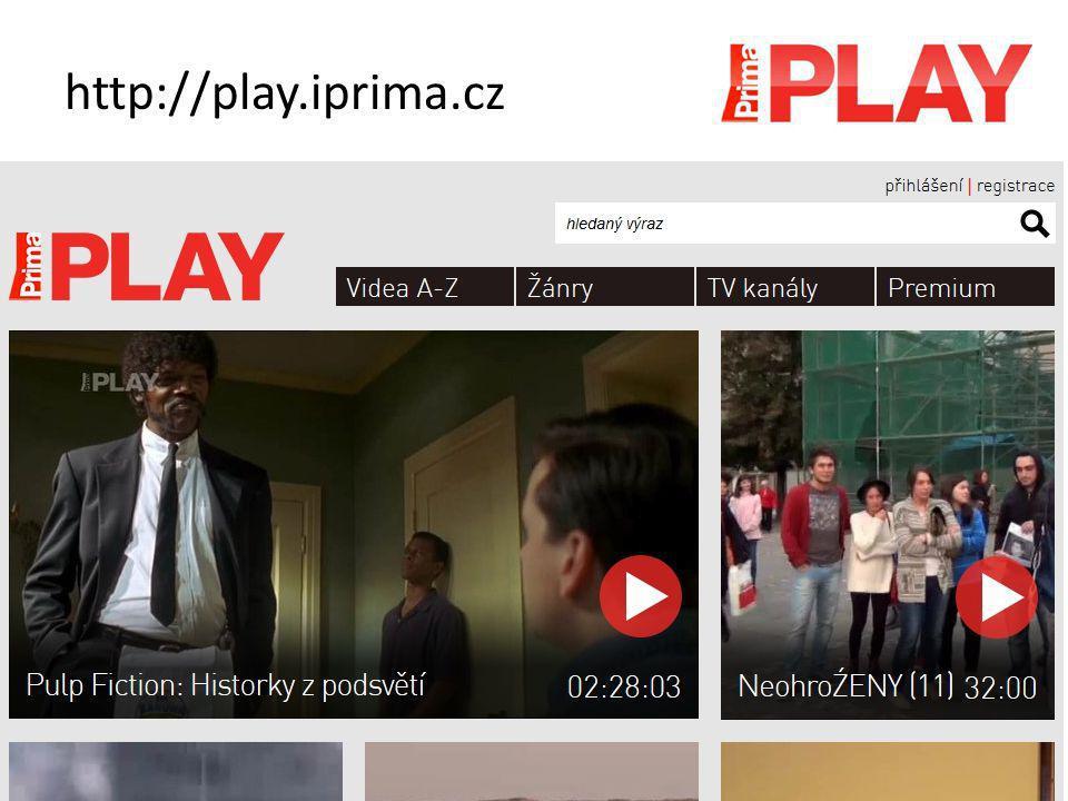 Televize.cz www.televize.cz FDb.cz (80 stanic) www.fdb.cz/tv Česká televize www.ceskatelevize.cz/tv-program Sms.cz (561 stanic) http://tv.sms.cz