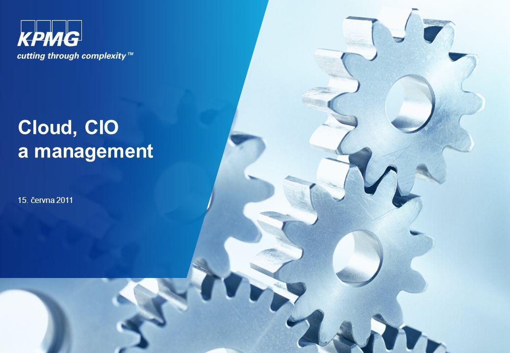 Cloud, CIO a management 15. června 2011