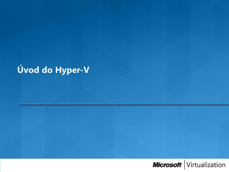 Úvod do Hyper-V