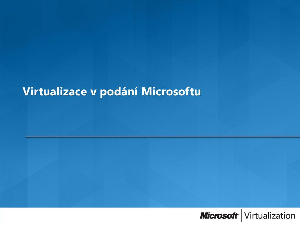 Virtualizace v podání Microsoftu