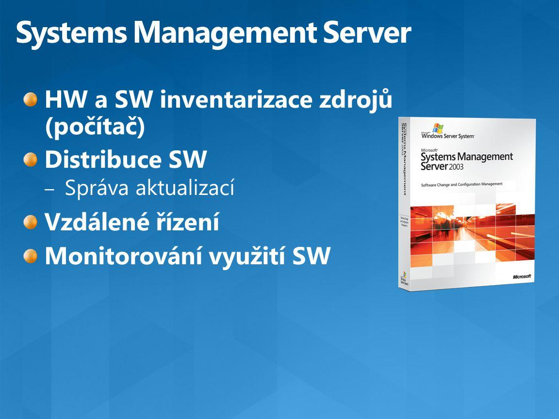 Reportování Klienti Admin konzola DB SCCM Server