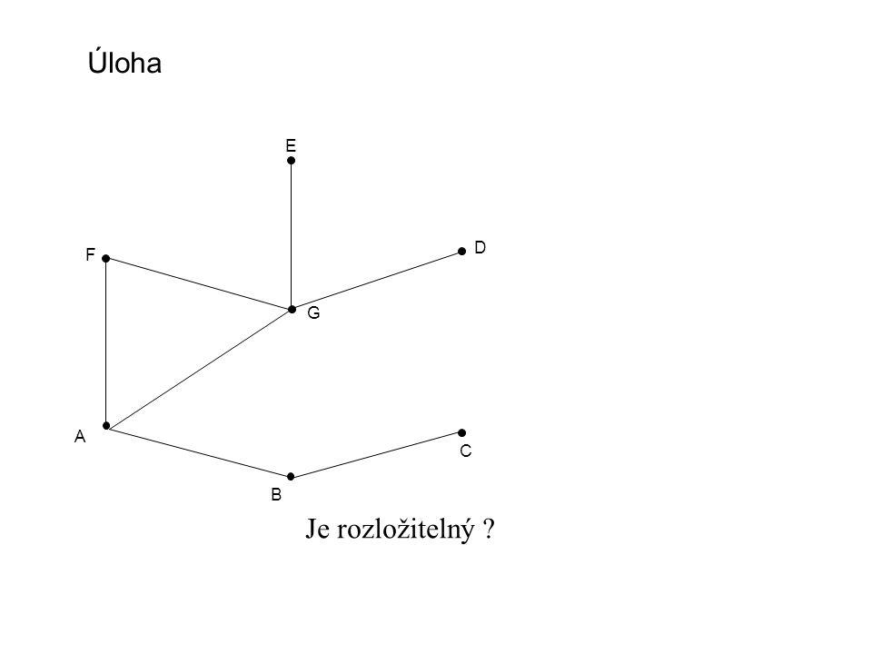 Marginální problém a rozložitelné modely A B C D p(A,B,C,D) = p(A,B,D) * p( zbytku ) p(B,D) p(A,B,C,D) = p(A,B,D) * p(B,C,D) p(B,D)