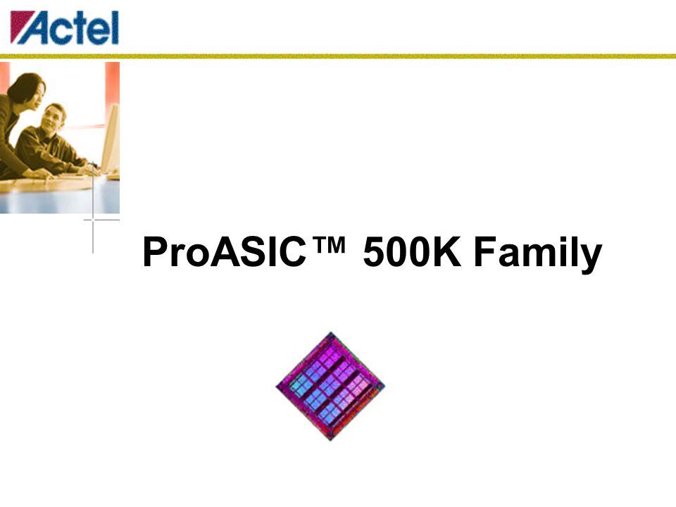 Rysy a užitné vlastnosti Vysoká kapacita  100 000 až 475 000 systémových hradel  14 kbit až 63 kbit Dual-Port SRAM 106 až 440 uživatelských I/O Výkonnost  33 MHz PCI 32-bit PCI  Vnitřní systém až do 250 MHz  Vnější systém až do 100 MHz Nízká spotřeba  nízká impedance Flash přepínačů  segmentová hierarchie propojovací struktury  malé, výkonné logické buňky (Cells) Vysoce výkonná propojovací hierarchie  ultrarychlá místní propojovací síť (Ultra Fast Local Network)  výkonná síť dlouhých linek (Efficient Long Line Netvork)  vysokorychlostní síť velmi dlouhých linek (High Speed Very Long Line Network)  vysokovýkonostní globální síť (High Performance Global Network) Nonvolatilní a reprogramovatelná Flash Technologie  LVCMOS 0.25µ, 4 vrstvy metalu.