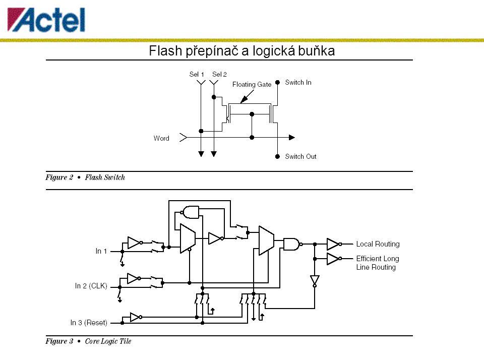 Flash přepínač a logická buňka
