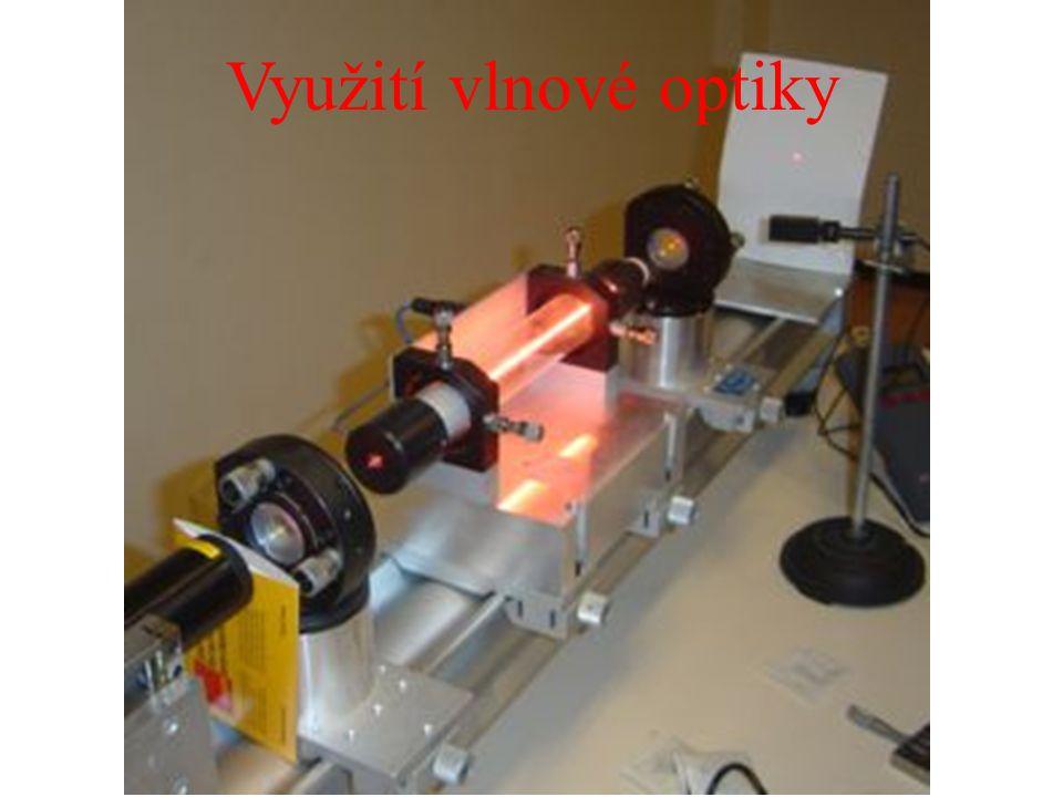 Využití vlnové optiky