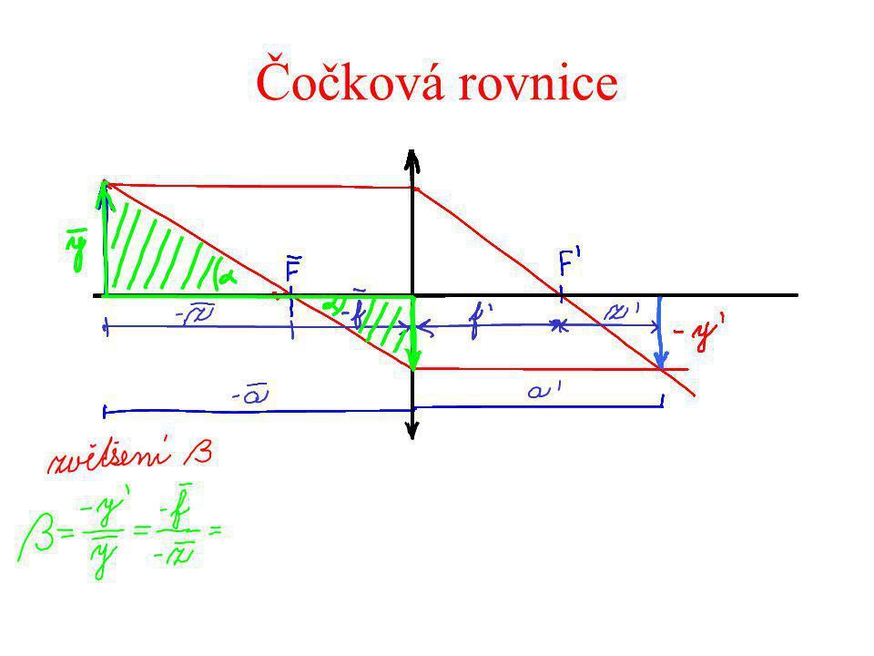 Čočková rovnice