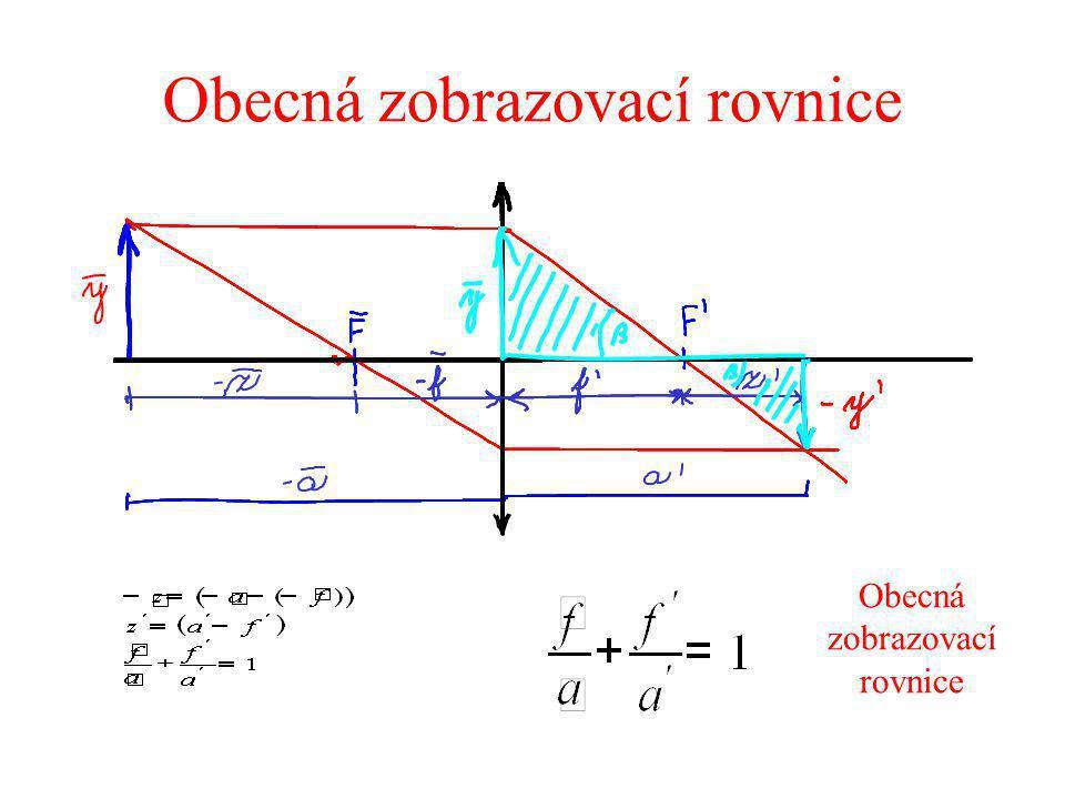Obecná zobrazovací rovnice