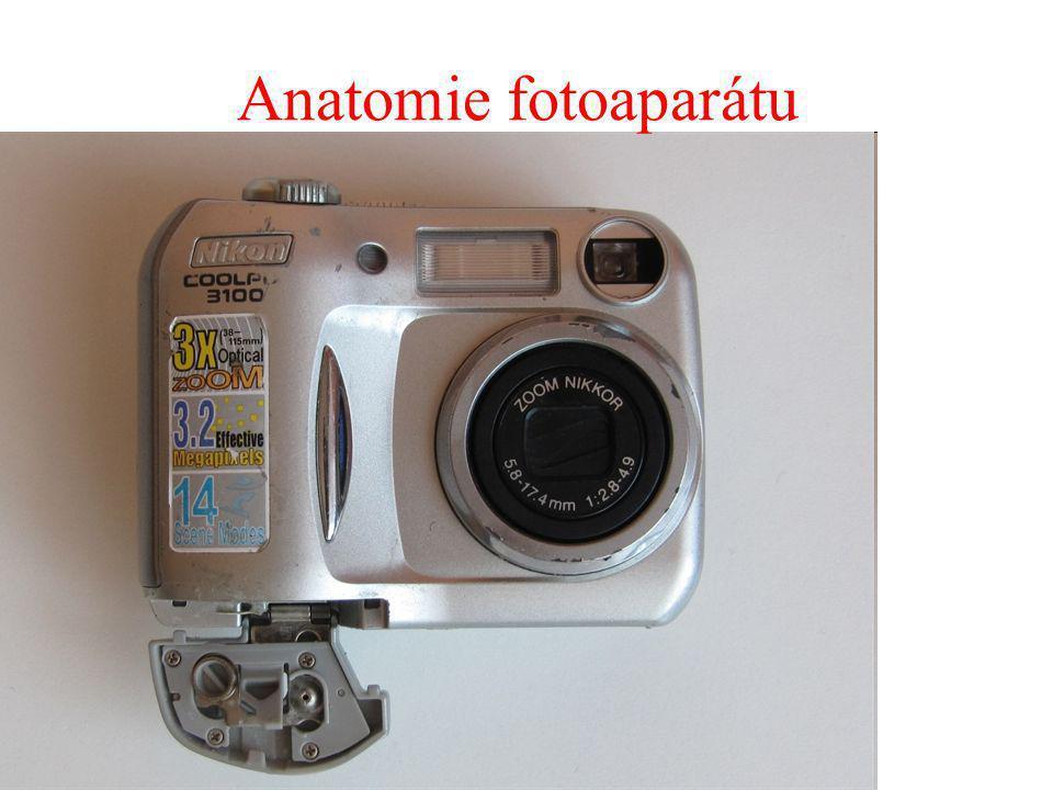 Anatomie fotoaparátu