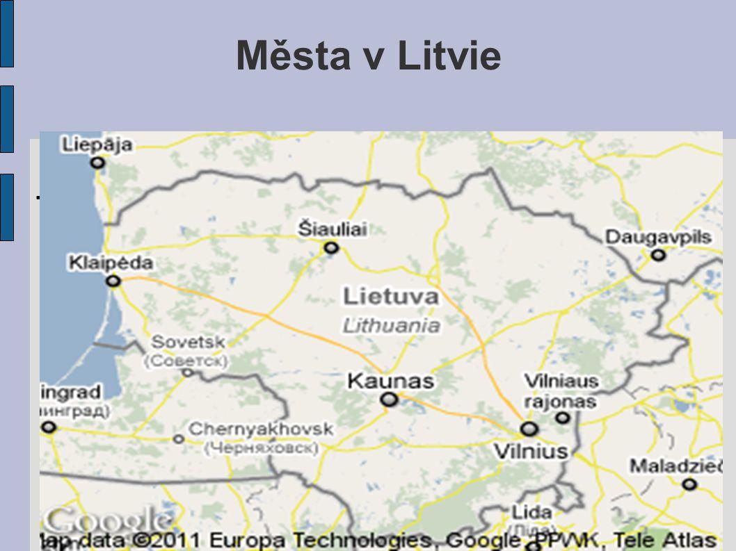 Města v Litvie... l