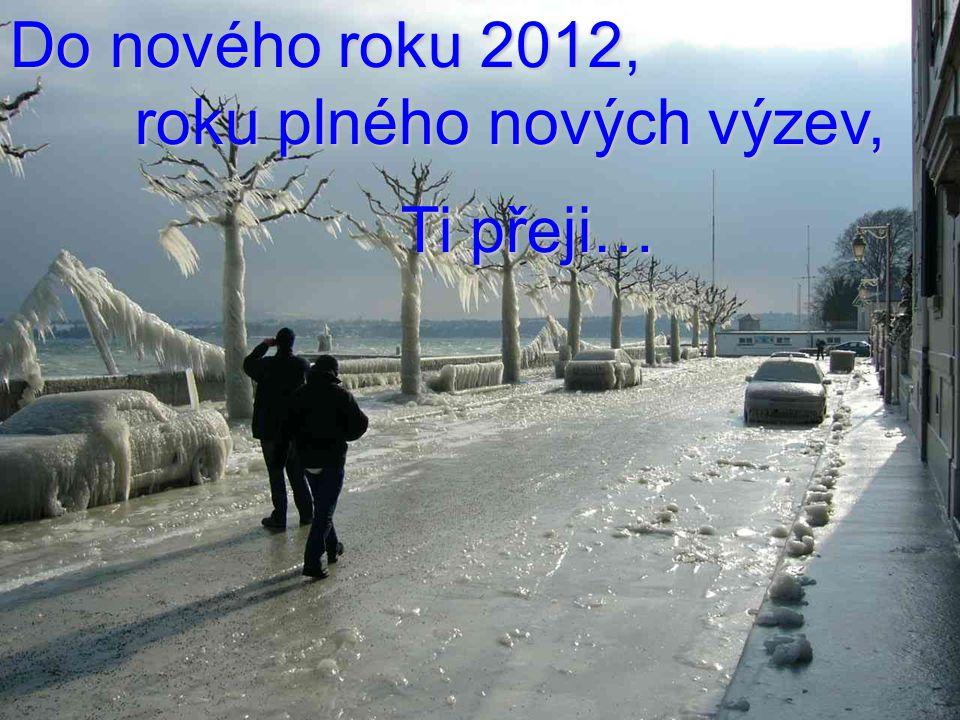 Do nového roku 2012, roku plného nových výzev, Ti přeji… Ti přeji…