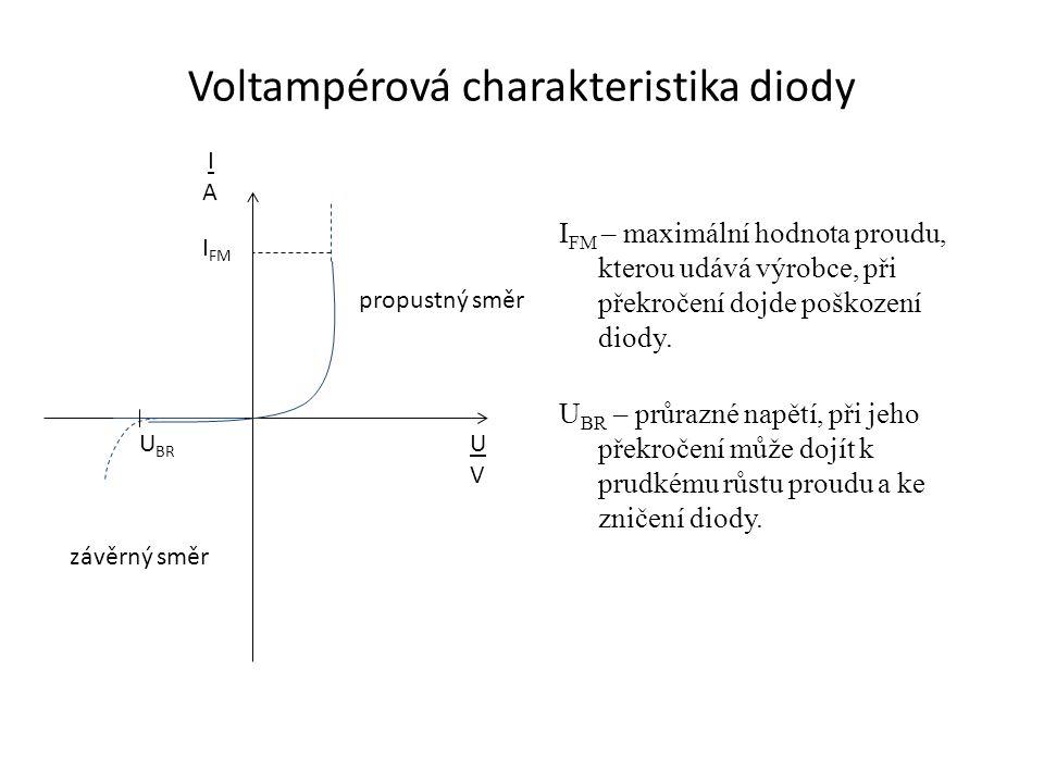 Využití diody: Usměrňovač střídavého proudu.Ke stabilizaci obvodu.