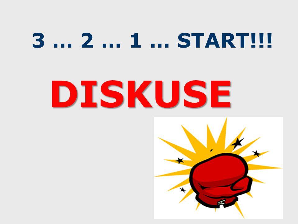 3 … 2 … 1 … START!!! DISKUSE