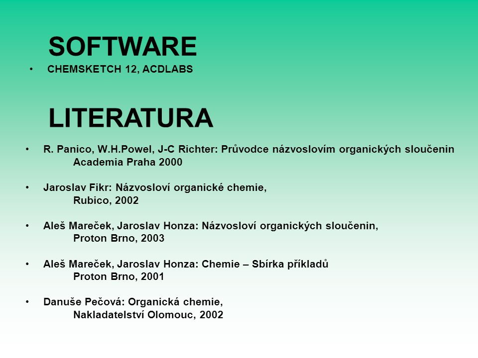 SOFTWARE R.