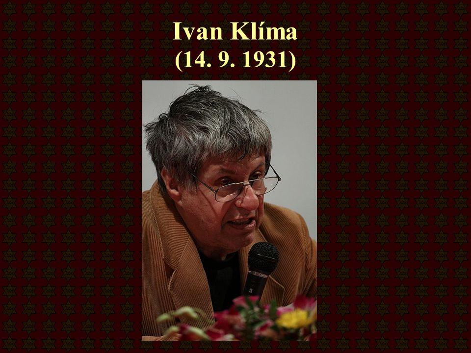 Ivan Klíma (14. 9. 1931)