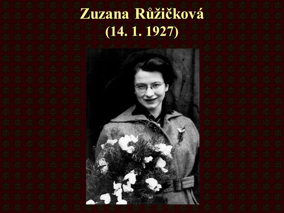 Zuzana Růžičková (14. 1. 1927)