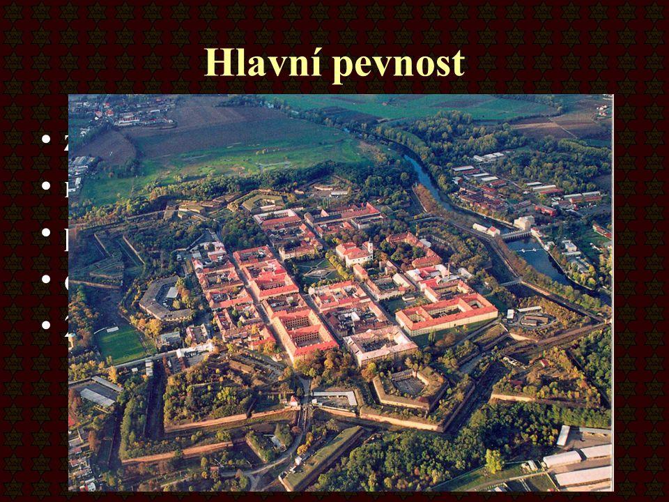 Hlavní pevnost zahrnuje samotné město má osmiúhelníkový tvar přes 3 km hradeb obehnána příkopy 29 km podzemních chodeb