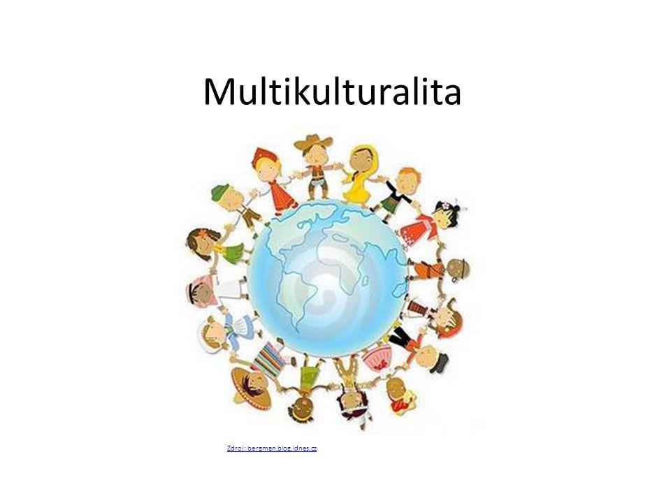 Multikulturalita Zdroj: bergman.blog.idnes.cz