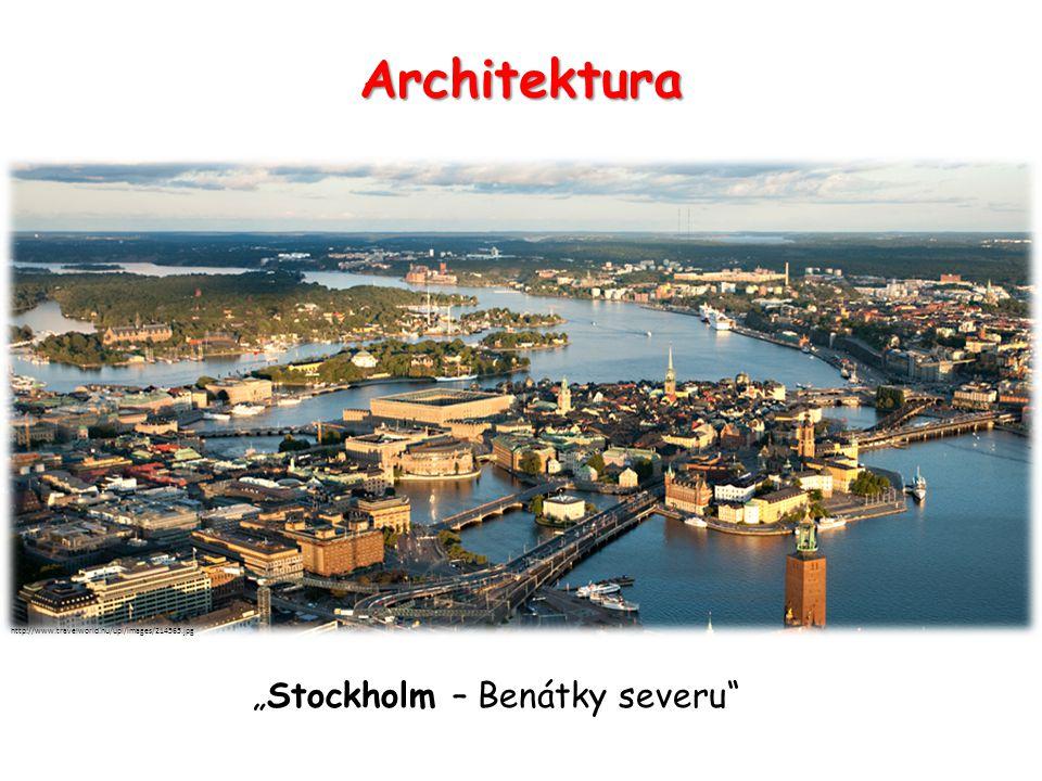 "Architektura http://www.travelworld.nu/upl/images/214565.jpg ""Stockholm – Benátky severu"""