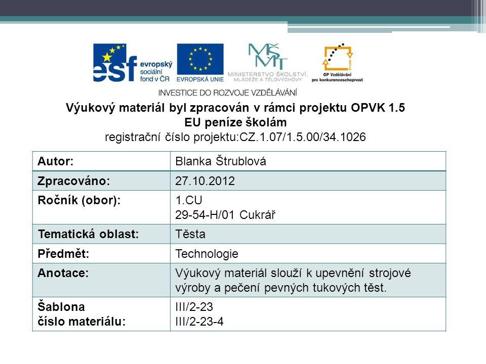 http://commons.wikimedia.org/wiki/File:Postup_v%C3%BDroby_chleb%C3%AD%C4%8Dkov%C3%A9_veky_(11).JPG Autor: Chmee2 Strojová výroba