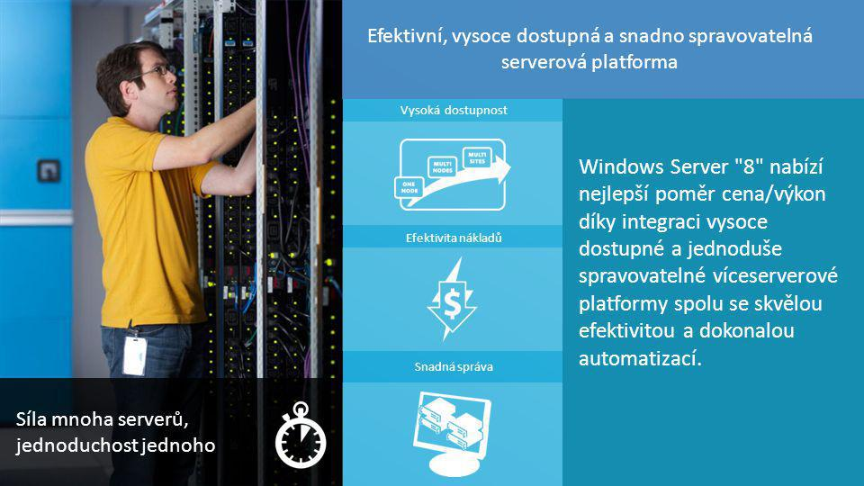 TOP Hotel Praha 7. – 8. 3. 2012 11 Windows Server